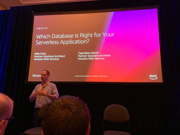 AWS re:Invent 2018 Day 1 - Sysless